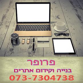 פרופר בנייה וקידום אתרים